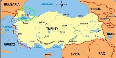 Istanbul Constantinopol Hartă Hărți Istanbul Constantinopol